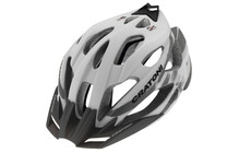 Cratoni C-Tracer Casque blanc-anthracite caoutchouc fini